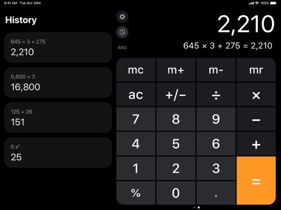 Calculator ۬ screenshot 1