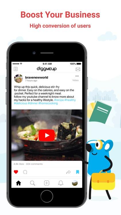 Diggmeup screenshot-3