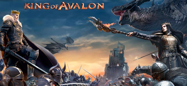 King of Avalon: Dragon Warfare on the App Store
