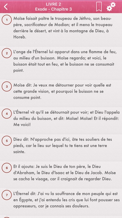 La Sainte Bible en Français screenshot-2