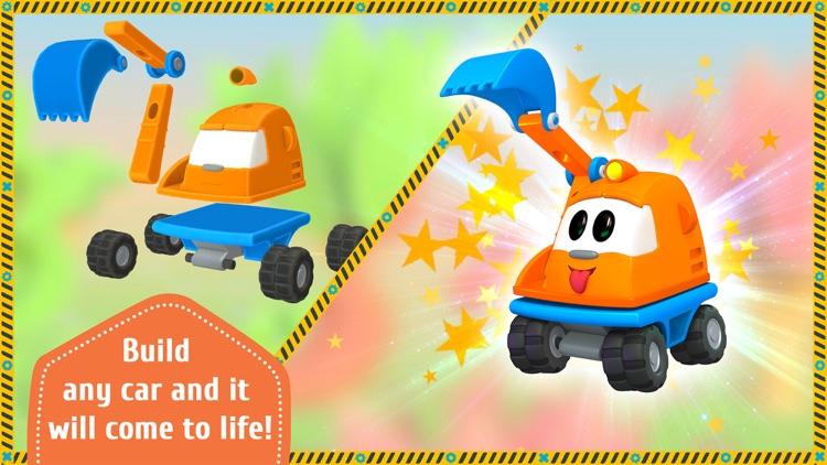 Leo the Truck and Cars Game screenshot-0