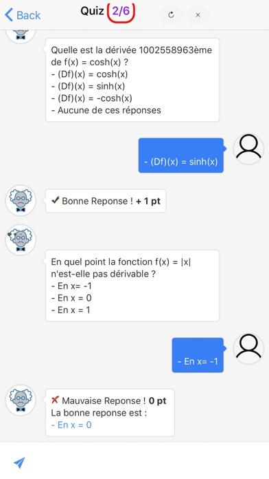 Maths Première S screenshot 6