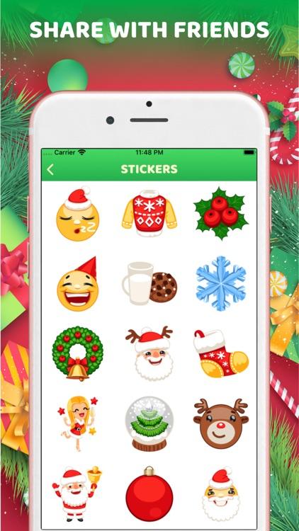 Christmas Stickers Emoji 2020