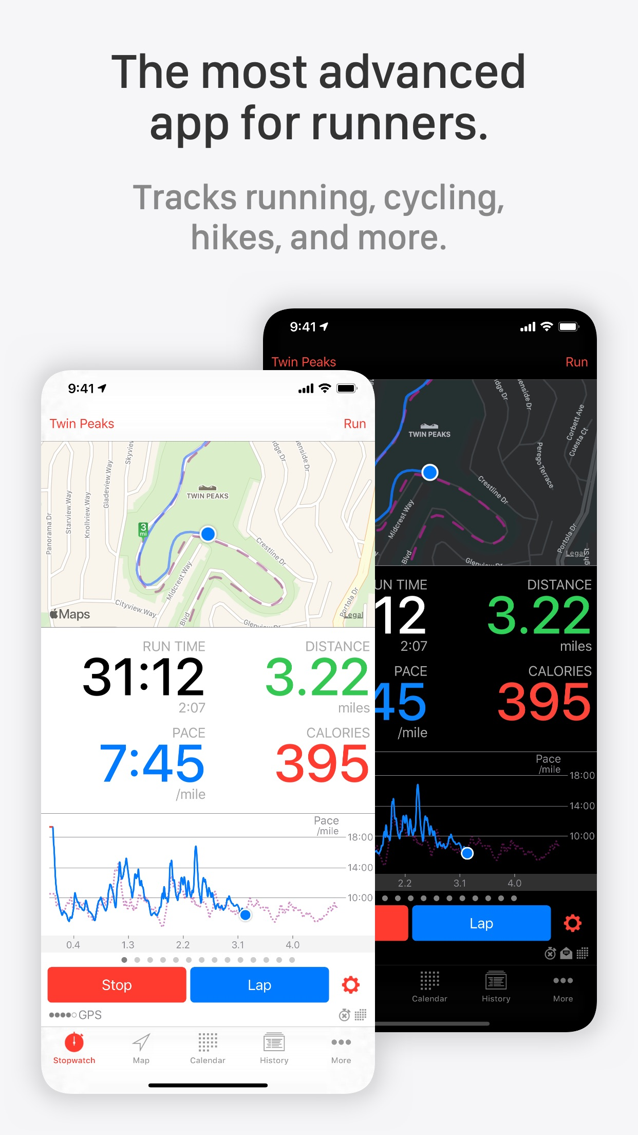 Runmeter Running & Cycling GPS Screenshot
