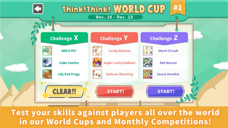 Think!Think! : Puzzle for kids screenshot-4