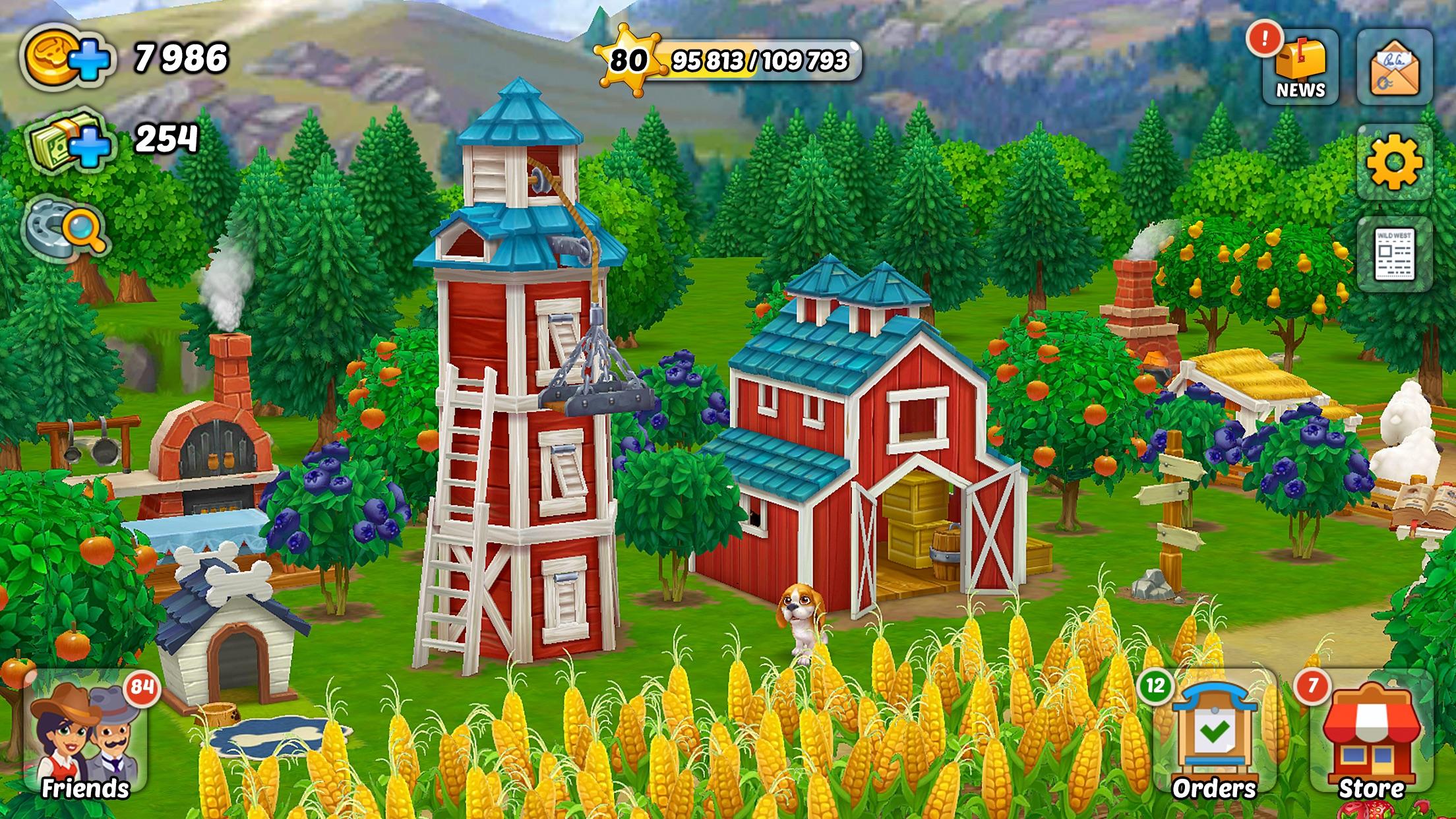 Wild West: New Frontier farm Screenshot