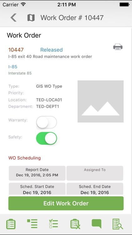 Infor EAM Mobile for Fleet screenshot-3