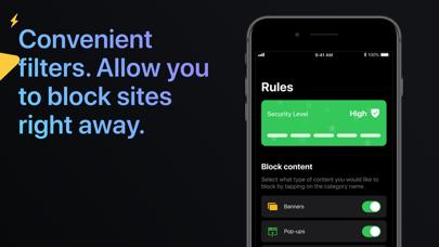 Ad Security Center Screenshot
