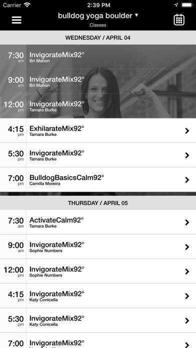 bulldog yoga screenshot two
