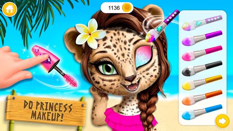 Jungle Animal Hair Salon 2 screenshot-0