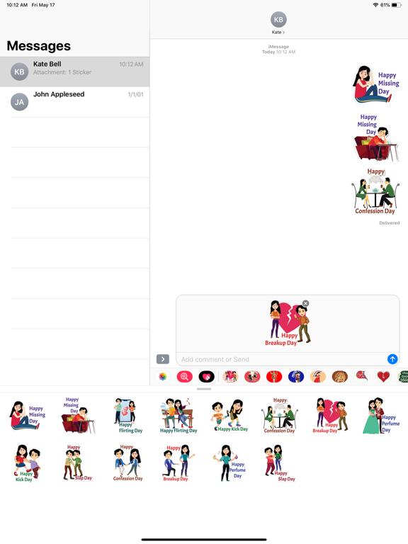 Post Valentine Special Sticker screenshot 5
