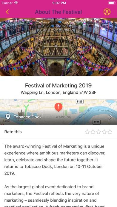 Festival of Marketing screenshot two