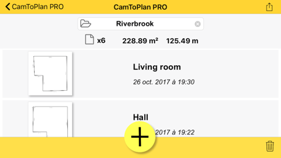 Screenshot for CamToPlan PRO in Sweden App Store