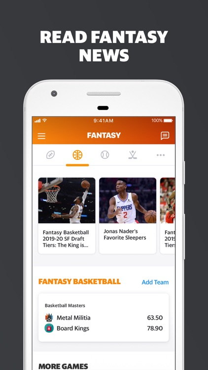 Yahoo Fantasy Football & more screenshot-4
