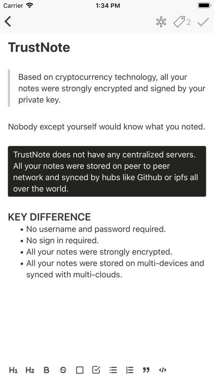 TrustNote screenshot-5