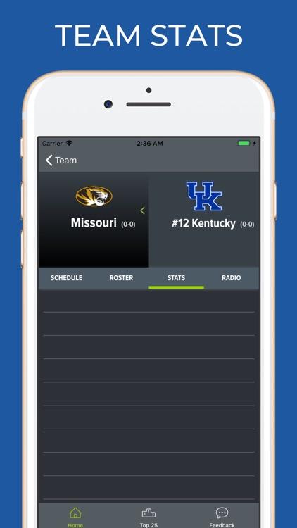 Missouri Football Schedules screenshot-3
