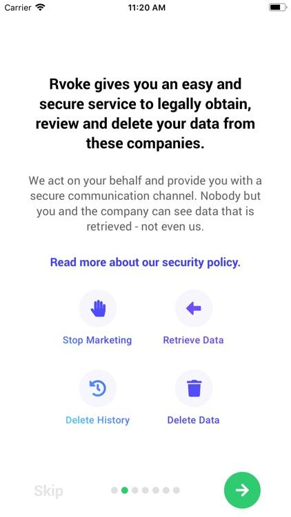 Rvoke: GDPR Protect your Data