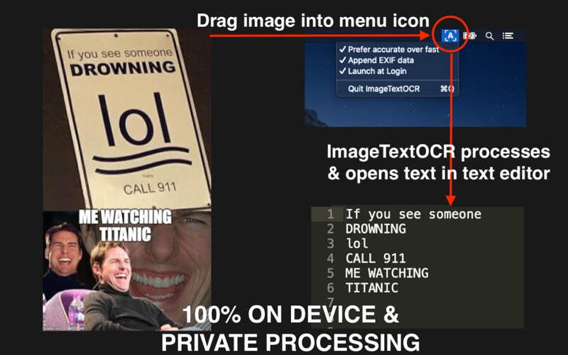 Image Text OCR Scanner for Mac
