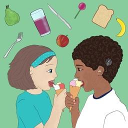 Sam en Mia thema eten