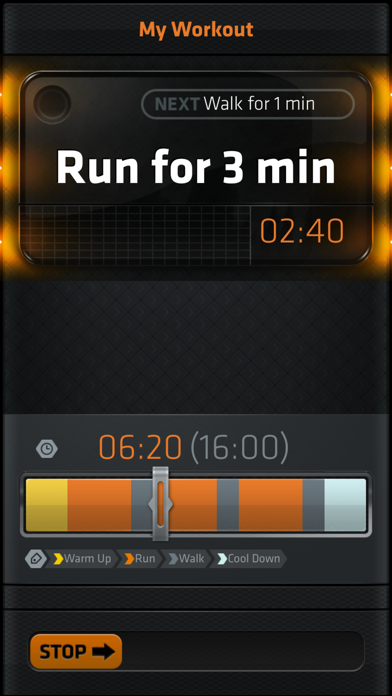 Interval Run screenshot two