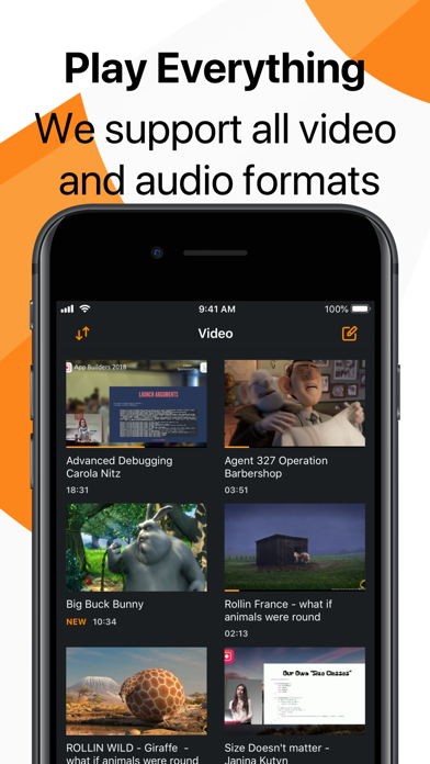 Screenshot for VLC for Mobile in Pakistan App Store