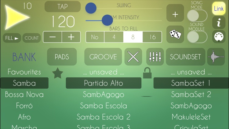 Brazilian Drum Machine screenshot-0