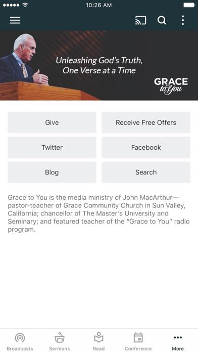 Grace to You Screenshot