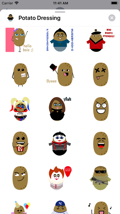 Potato Dressing screenshot 3