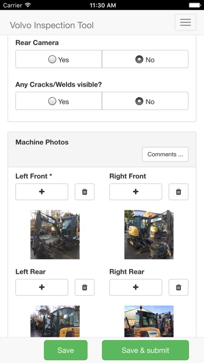 Volvo Used Inspection screenshot-4