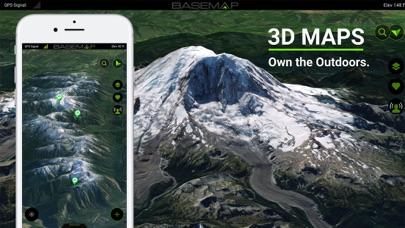 BaseMap: 3D Hiking Hunting Map Screenshot