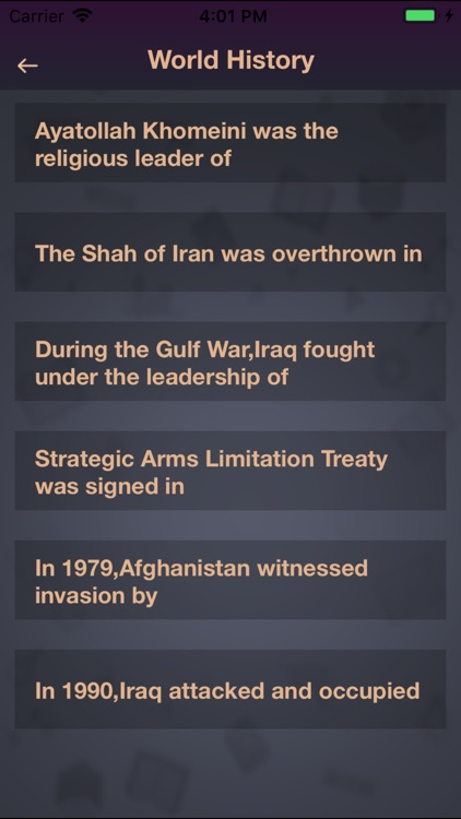 General Knowledge of The World screenshot-3