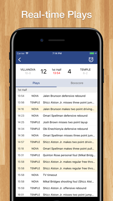 Scores App: College Basketball screenshot two