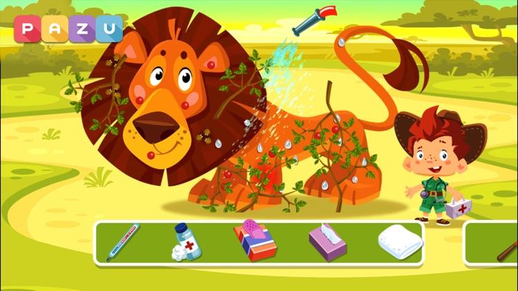 Animal Doctor Safari kids game