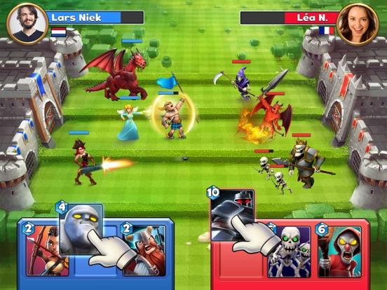 Castle Crush: Strategiespel iPad app afbeelding 1