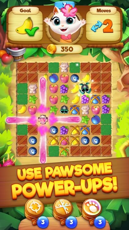 Tropicats: Match 3 Puzzle Game screenshot-3