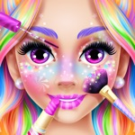 Rainbow Unicorn Candy Salon