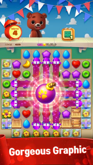 Screenshot of Toy Bear Sweet POP App
