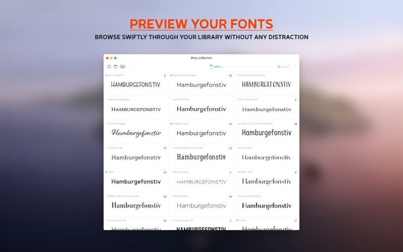 Typeface 2 Screenshots