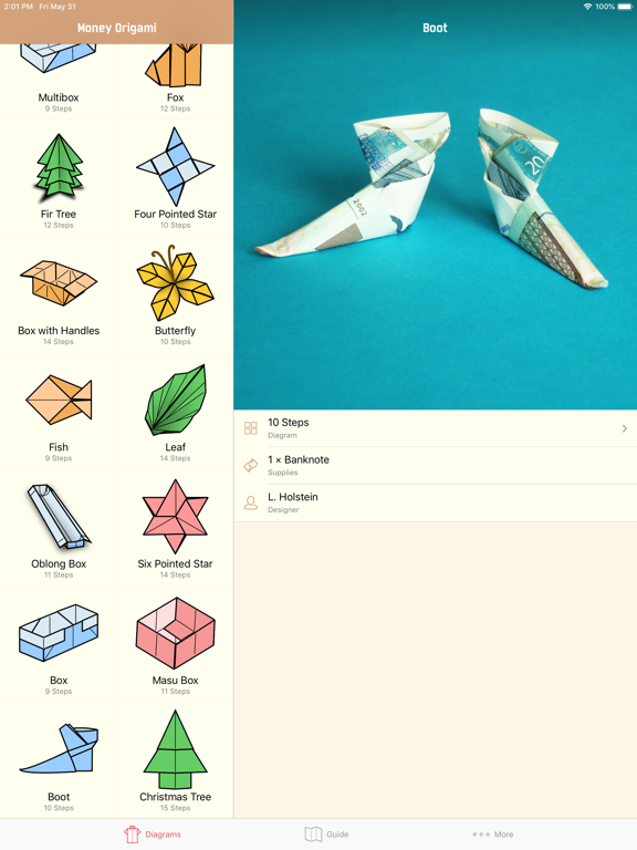 Money Origami Gifts Made Easy Screenshots