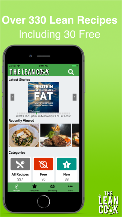 The Lean Cook Healthy Recipes for pc