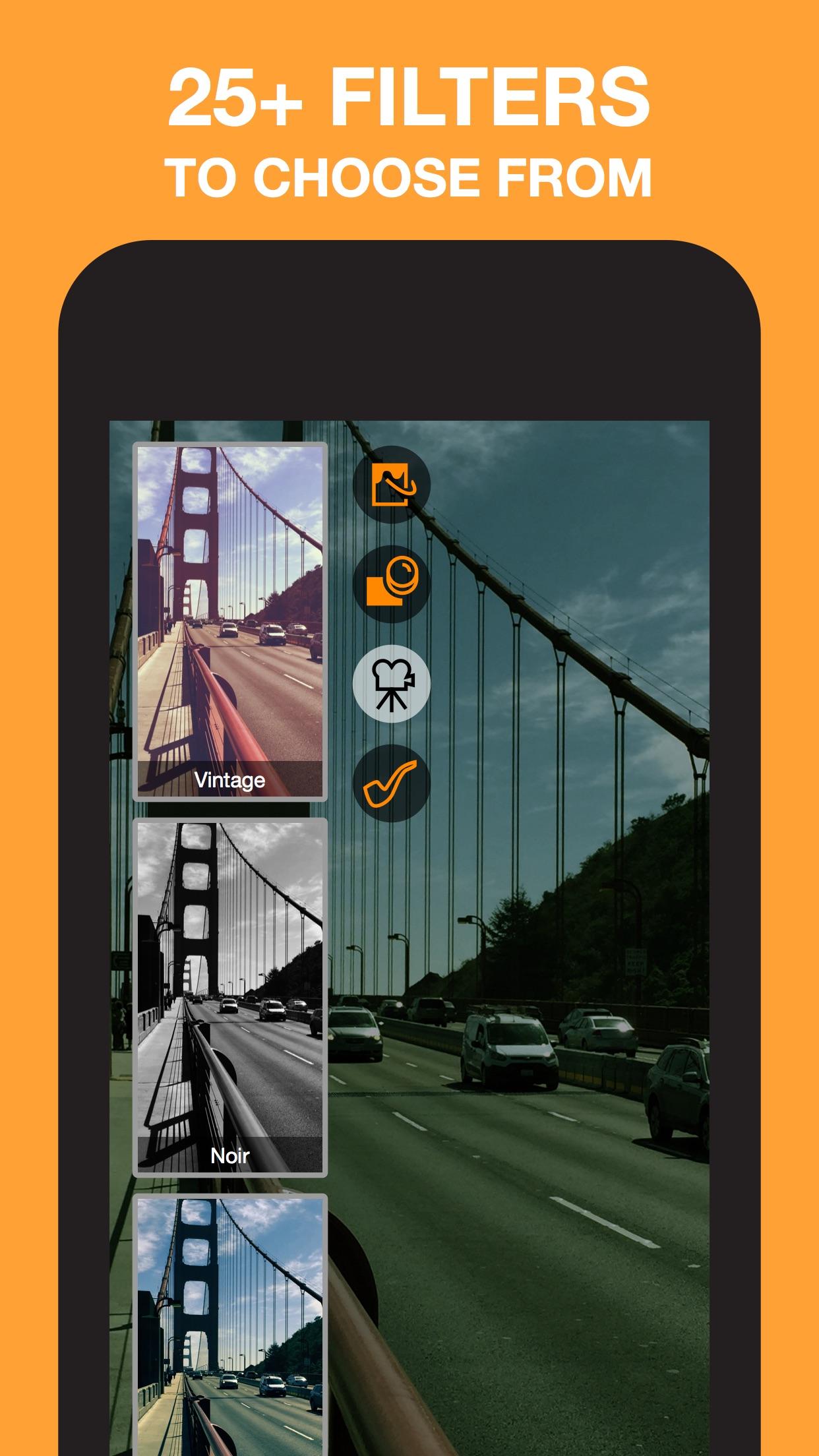 Screenshot do app Horizon Camera