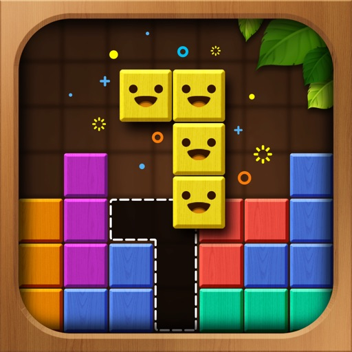 Wood Color Block: Puzzle Game