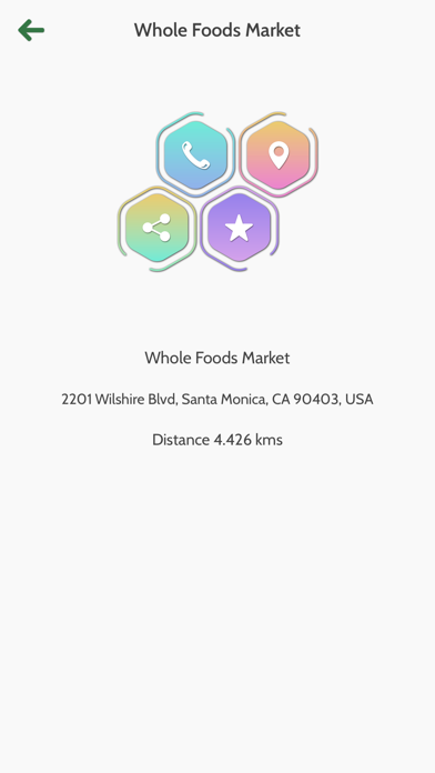 App for Whole Foods Market Screenshot