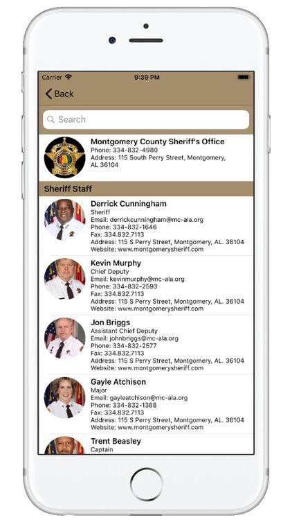 Montgomery County AL Sheriff screenshot-4