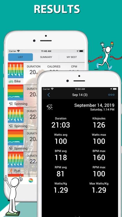 iBiker Cycling & Heart Trainer screenshot-5