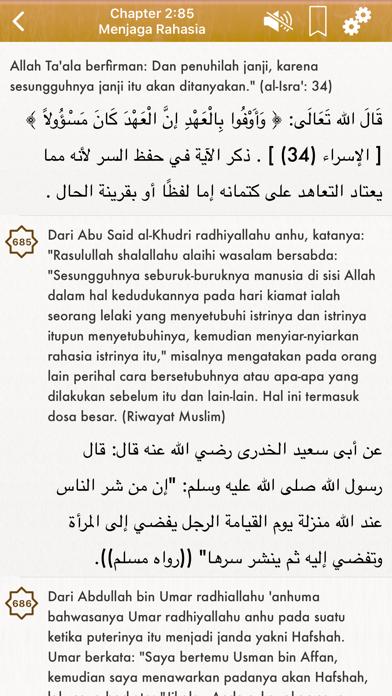 Riyad Salihin Audio Indonesian screenshot three