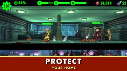 Screenshot from Fallout Shelter
