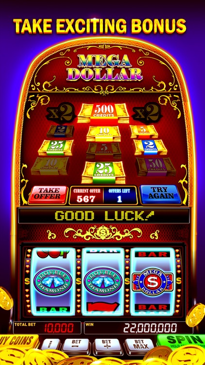 Slots-Fortune 777 Classic Slot screenshot-3