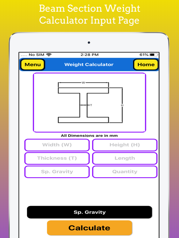Fabrication Weight Calc Pro screenshot 20