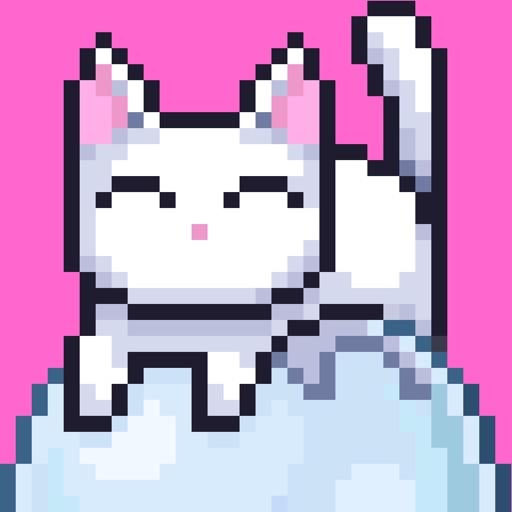 Bubbles the Cat icon